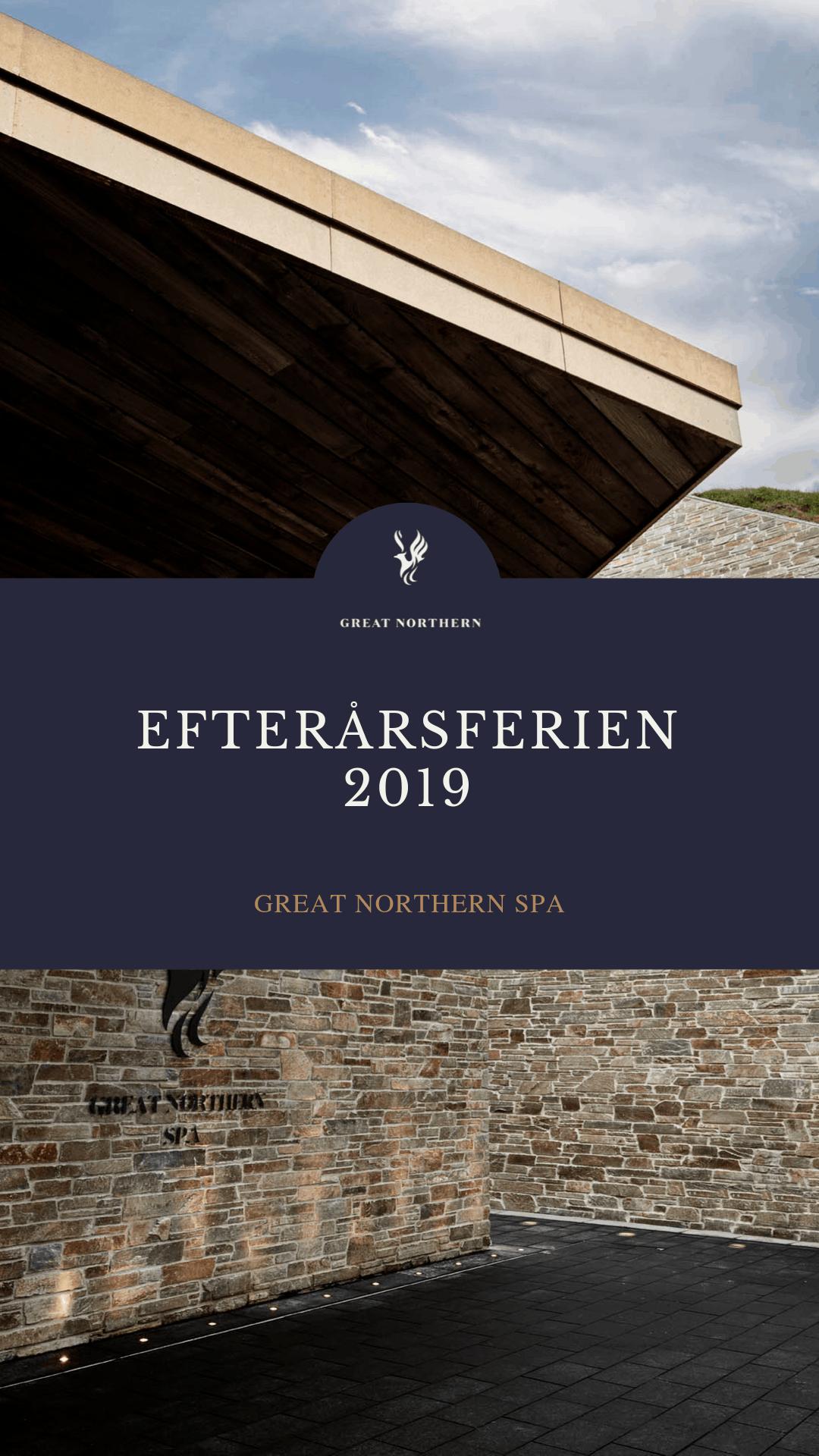 EFTERÅRSFERIEN 2019