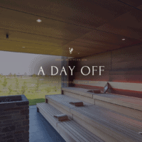NYHED! A DAY OFF – SAUNA